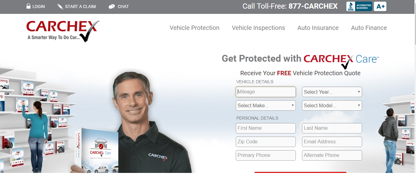 CARCHEX Customer Toll Free Number
