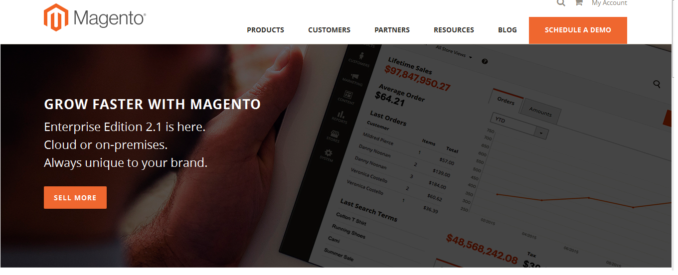 Magento  Number