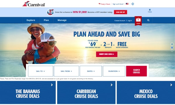 About Carnival Cruise Line