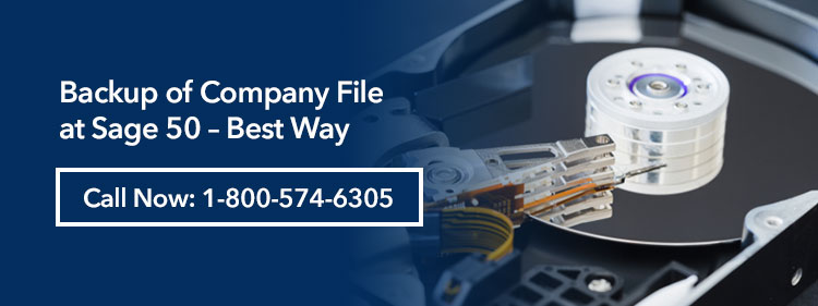 Sage Company File Backup