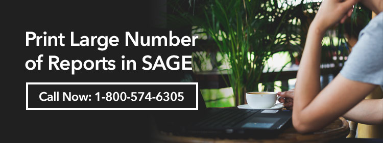 How To Print Large Number Of Reports In Sage Rather Than Print Individually