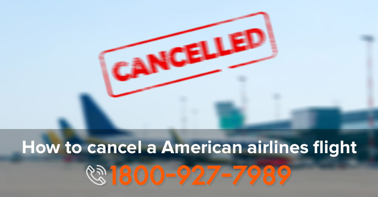 Cancel American Airline Ticket