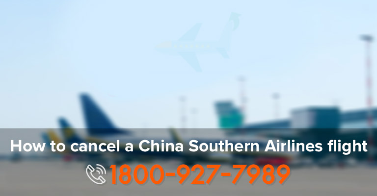 Cancel China Southern Ticket