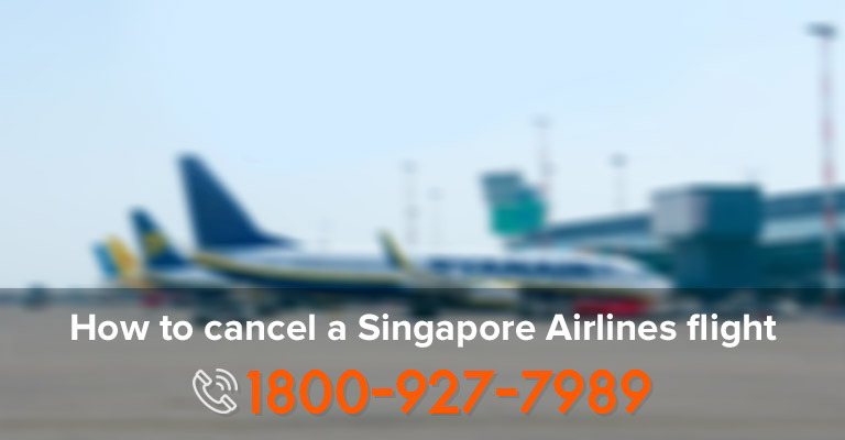 Cancelling Singapore Airlines Ticket