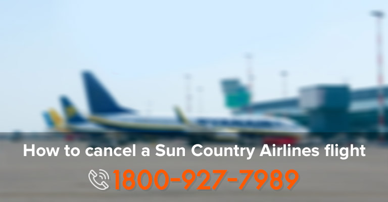 Cancel Sun Country Airlines Flight