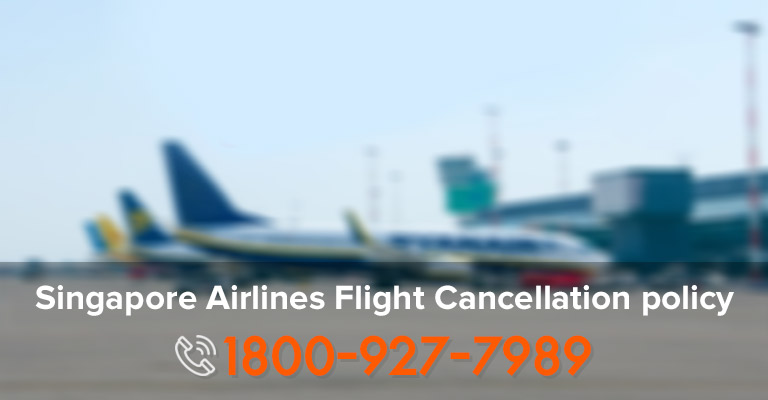 Rules Cancelling Singapore Airlines Ticket