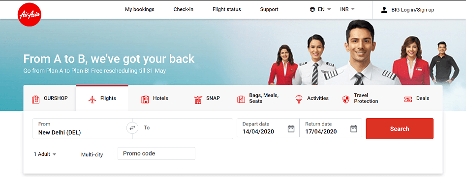 AirAsia India Airlines