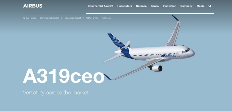 Airbus A319ceo