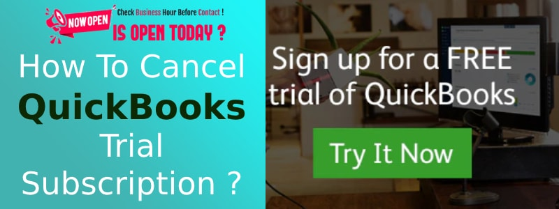 Cancel Now QB Free Trial