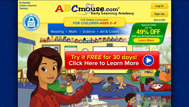 ABCmouse Age of Learning Inc