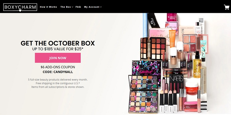 BOXYCHARM Cancel Subscription