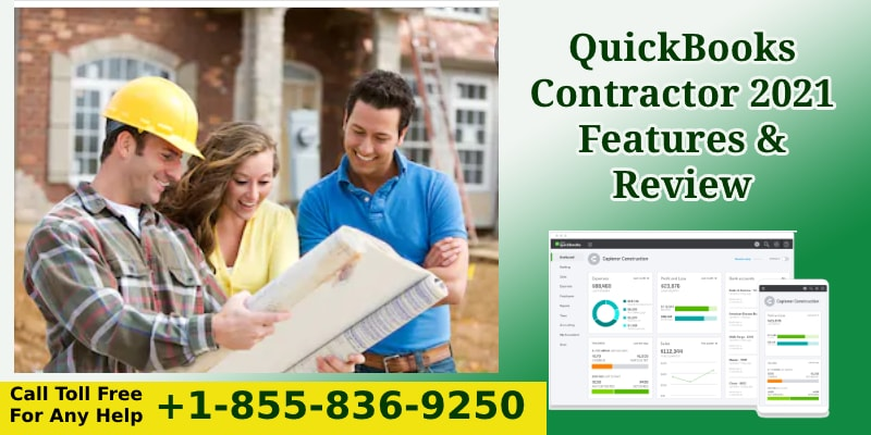QuickBooks Contractor 2021 Features & Review