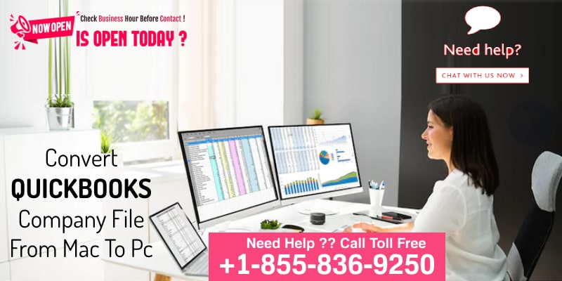 Convert QuickBooks Company File From Mac To PC