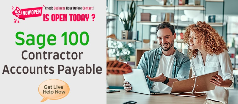 Sage 100 Contractor Accounts Payable